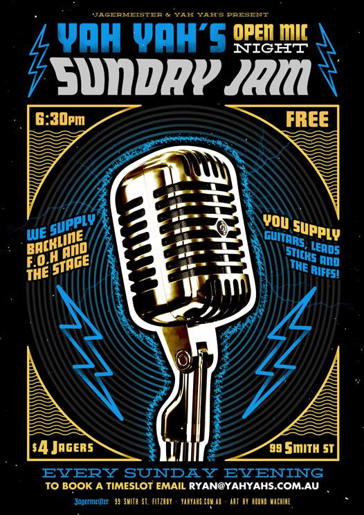 YahYah's-Sunday Jam-Web