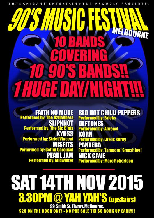 90'S TOUR 2015 - Melbourne_Web
